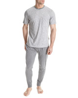 grey Jersey Lounge Set
