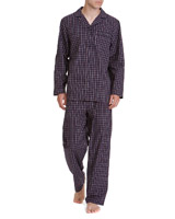 navy-red Cotton Pyjamas