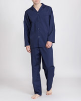 navy Easy Care Pyjamas