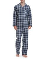 navy-checkFlannel Pyjamas