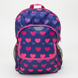 heart Heart Print Backpack