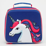 navy Unicorn Lunchbag