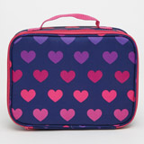 heart Girls Print Lunchbag