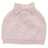 pink Bow Beanie Hat