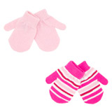 pink Mittens - Pack Of 2