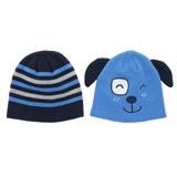 blueKnit Hats - Pack Of 2