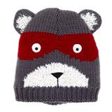 greyBandit Bear Novelty Hat