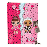 pink LOL Lockable Diary