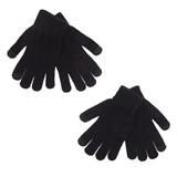 black-black Magic Gloves- 2 Pack
