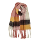 multiBrushed Check Scarf