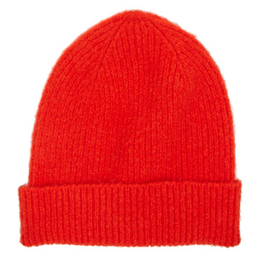 red Ribbed Hat 8c741f4daac