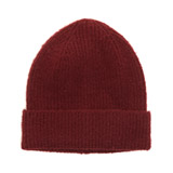 mulberry Ribbed Hat