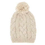 creamLurex Pom Hat