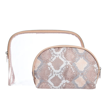 blushCosmetic Bag Set - Set Of 2