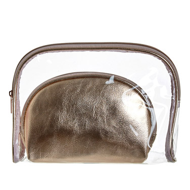 Cosmetic Bag Set - Set Of 2