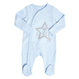 baby-blue Boys 2018 Sleepsuit