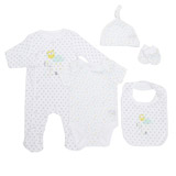 white Unisex Five Piece Gift Set