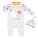 grey Ghost Sleepsuit And Hat
