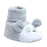 greyUnisex Sock Top Booties