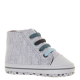 greyQuilted High Tops
