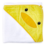 lemon Duck Towelling Shawl