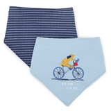 blue Play Bibs - Pack Of 2
