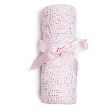 pinkPink Cellular Shawl