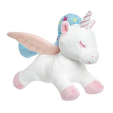 white Plush Unicorn