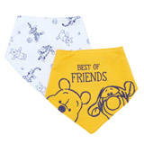 yellow Tigger Bibs - Pack Of 2