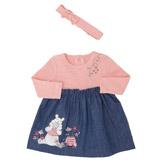 pinkTwo Piece Winnie Dress Set
