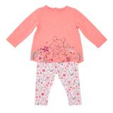pinkWinnie Top And Legging Set