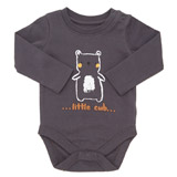 grey Bear Bodysuit
