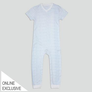 Boys Short-Sleeved Sleepsuit (3-14 Years)