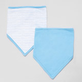 blue Boys Bib - Pack Of 2