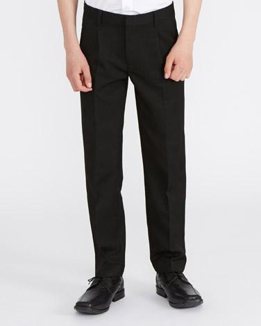 blackBoys Pleat Front Trousers
