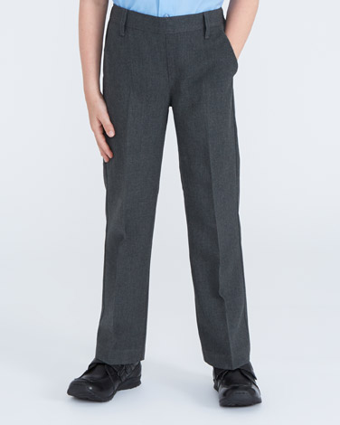 Boys Flat Front Trousers