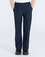 navyBoys Flat Front Trousers