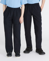 navyUnisex Microfibre Jogpants