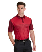red Pádraig Harrington Arrow Print Polo (UPF 50)