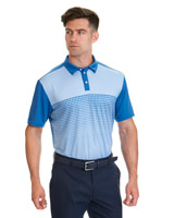 blue Pádraig Harrington Arrow Print Polo (UPF 50)