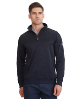 navy Pádraig Harrington Regular Fit Quarter Zip Fleece