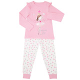 pink Girls Princess Pyjamas