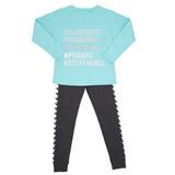 mintFoil Print Pyjama Set