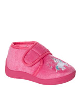 pink Baby Girls Novelty Slippers