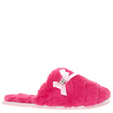 cerise Older Girls Jewel Slippers