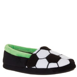black Football Slipper