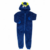 blue Boys Monster Onesie