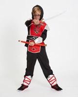 redRed Ninja Costume