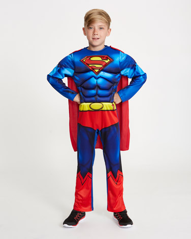 Blue Superman Costume