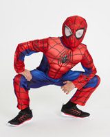 blue Spiderman Costume